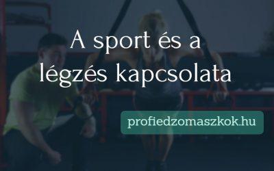 A sport és a légzés kapcsolata